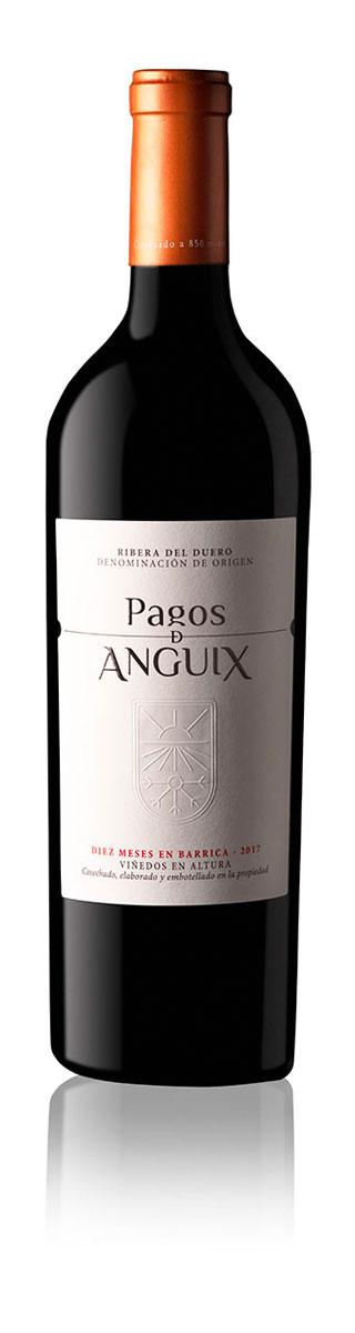 red wine pagos de anguix ribera del duero