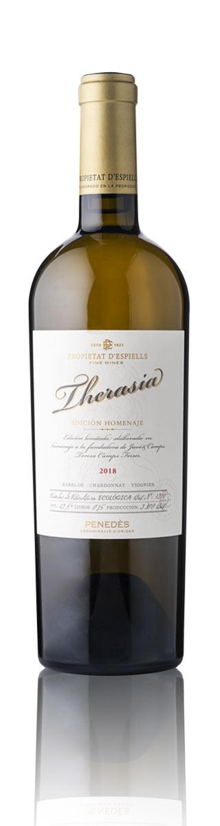 vino blanco do penedès therasia propietat d'espiells