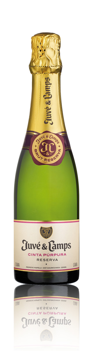 cava juve y camps cinta purpura 375 ml