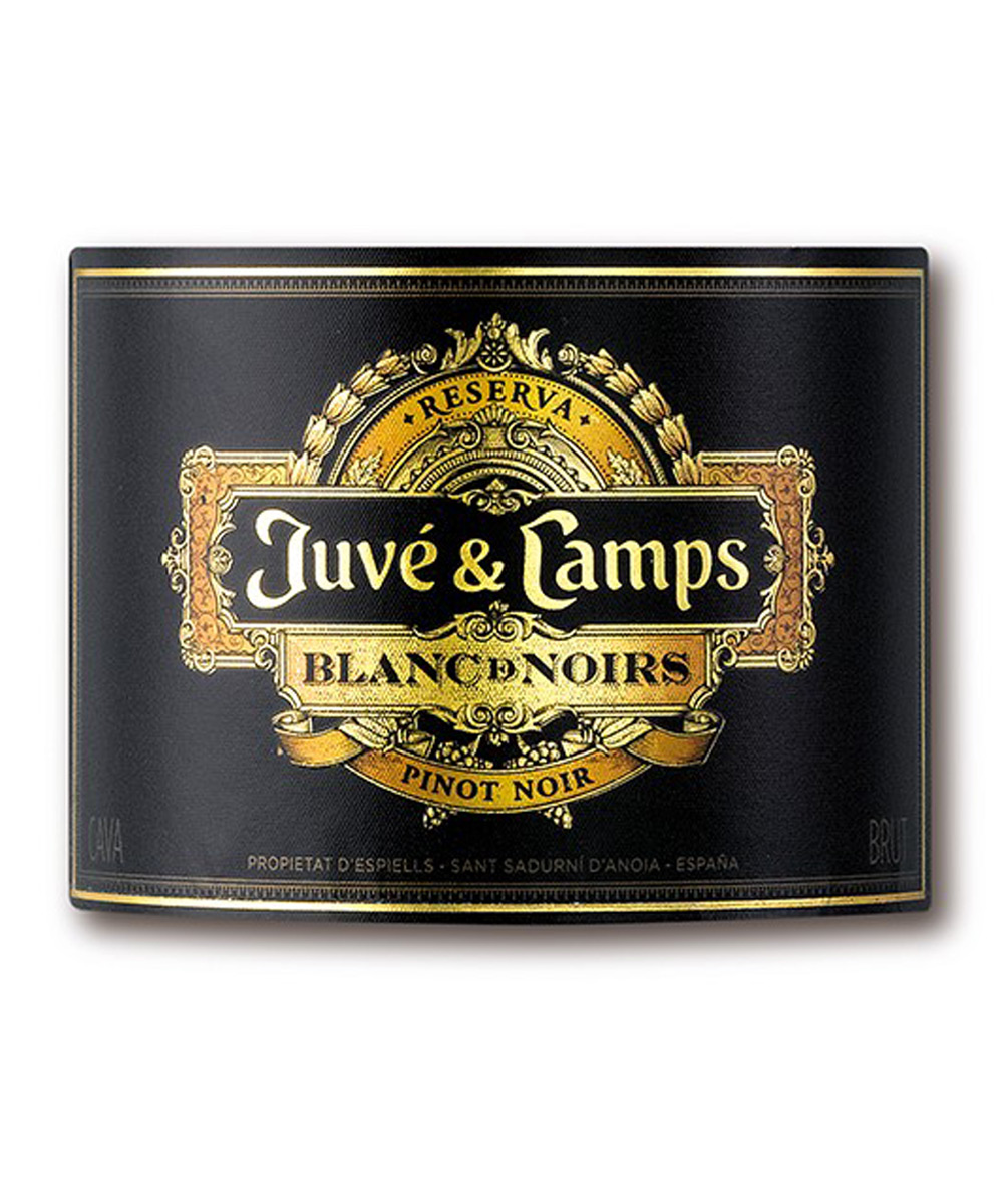 cava reserva brut blanc de noirs juvé & camps canister