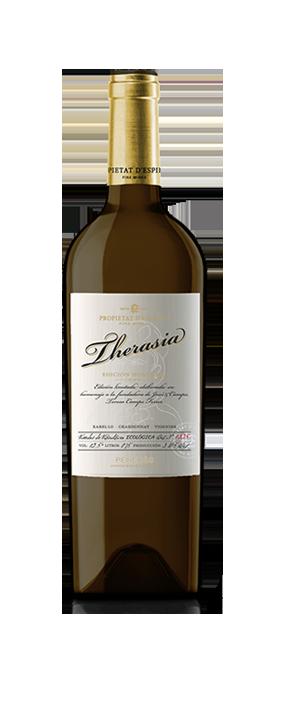 comprar vi blanc therasia propietat d'espiells