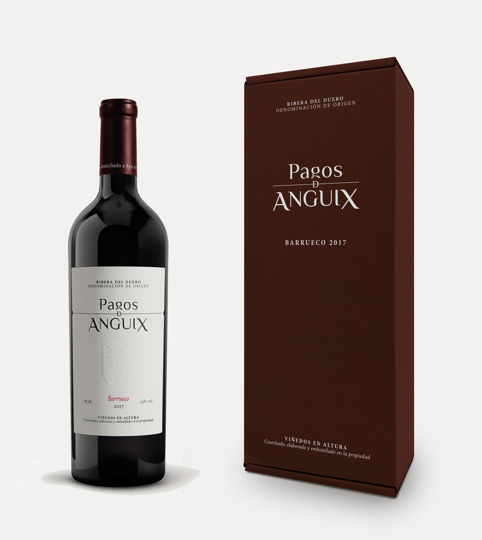 vino tinto ribera del duero regal barrueco pagos de anguix